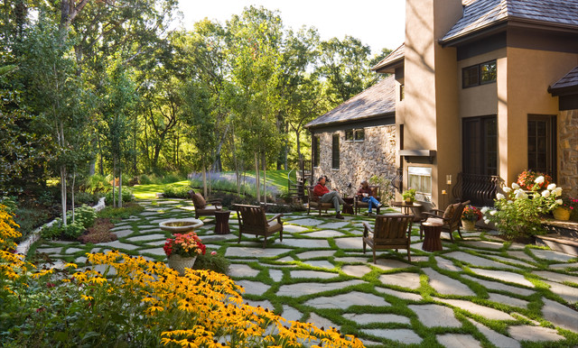 Windsor Companies traditional-landscape