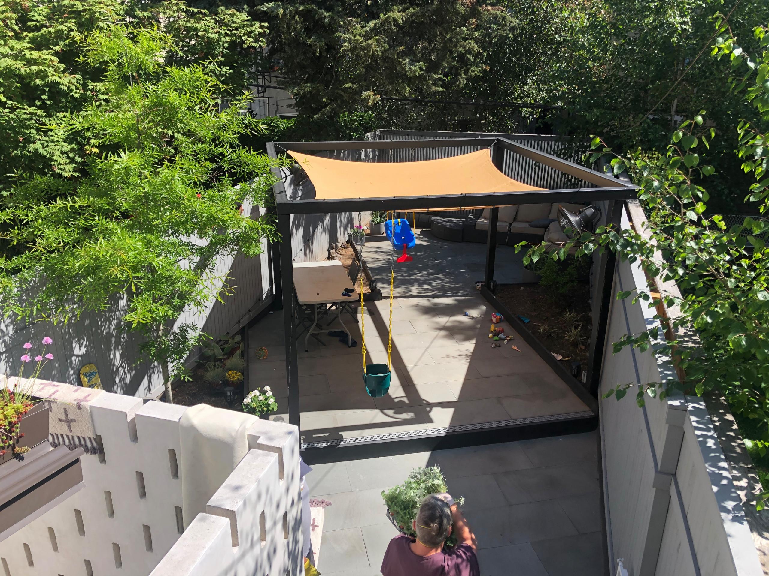 WIndsor Terrace Backyard