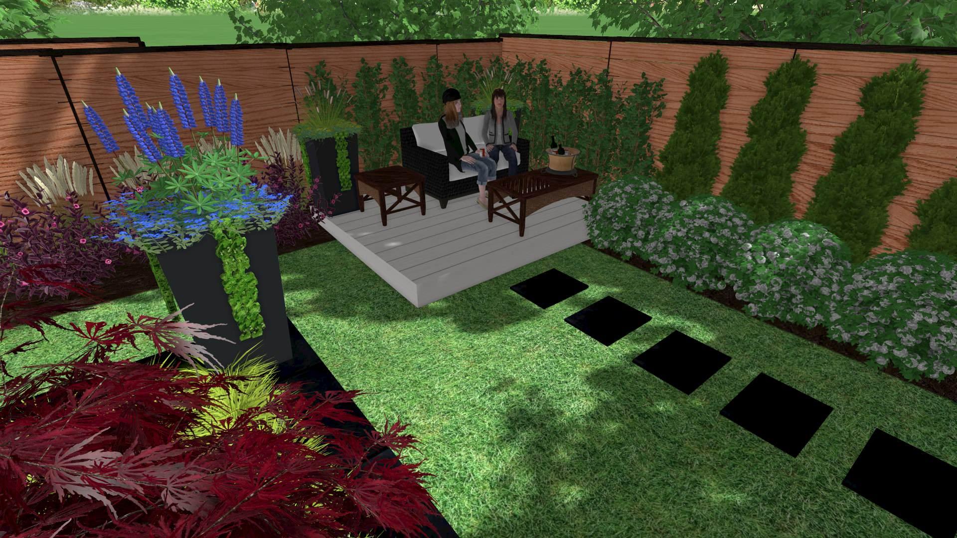 Woodbridge Backyard