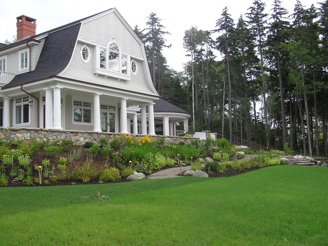Woodland Estate traditional landscape