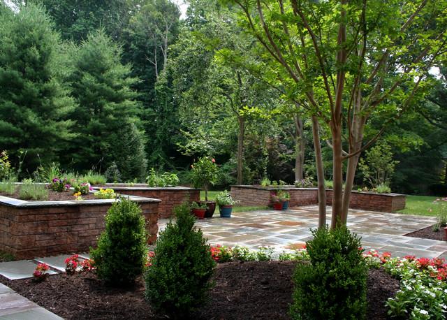 Woodland Garden farmhouse-landscape