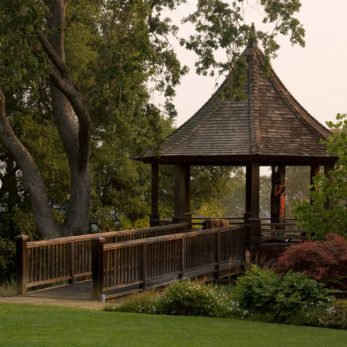 Wooden Gazebo Design Idea