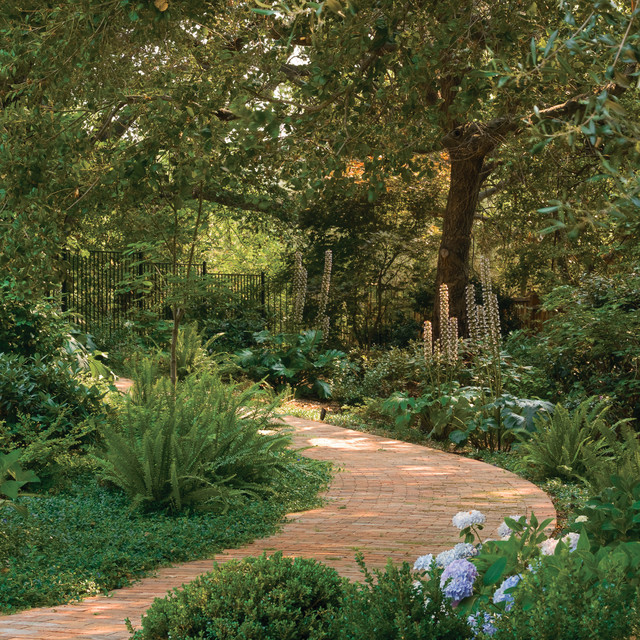 Woodland Path Traditional Landscape san francisco