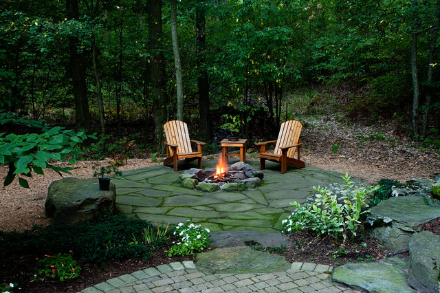 Woodland retreat traditional landscape other metro How to landscape