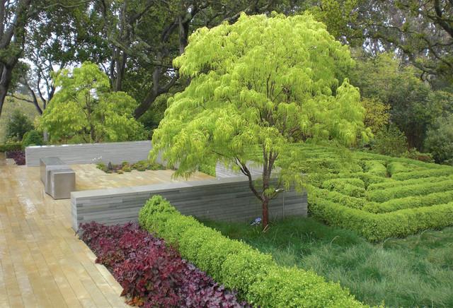 Woodside Residence Contemporary Landscape San