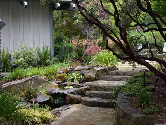 Woodside Woodland Gardens Eclectic Landscape san