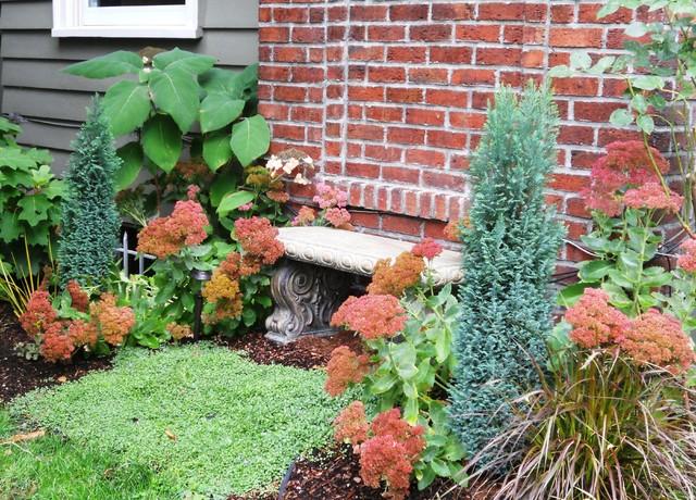 Klassischer Garten in Seattle