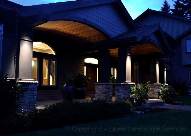 Wright Outdoor Lighting Project 2013 Contemporary Landscape Portland
