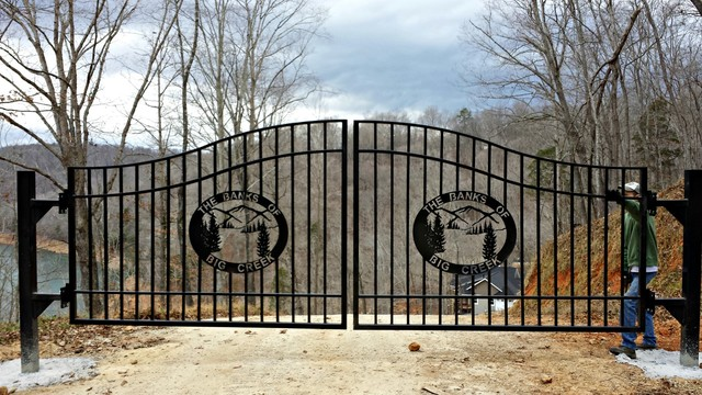 Wrought Iron Driveway Privacy And Estate Gates