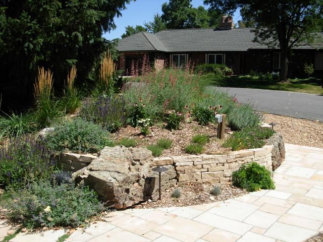 Xeric landscape in Greenwood Village, CO contemporary-landscape