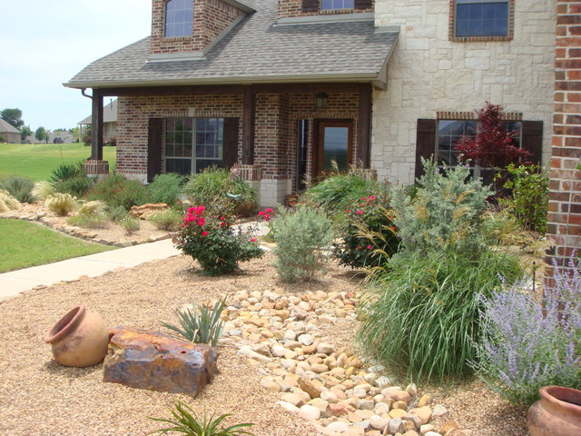 Xeriscaping Traditional Landscape Dallas By