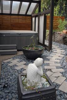 Zen Garden - Asian - Landscape - portland - by dioxua