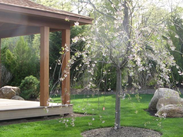 Zen Garden w Yoga & Amethyst Meditation Pavilion - asian ...