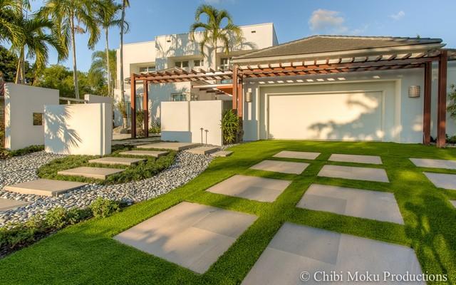 zen gardens contemporary landscape miami by shelly preziosi designs inc. Black Bedroom Furniture Sets. Home Design Ideas