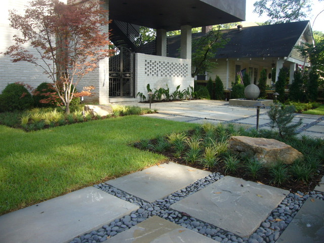 Superior Contemporary Front Yard Landscaping Ideas Part - 2: Zen Inspired Front Yard Modern-landscape