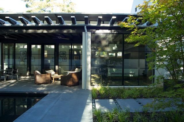 Zen Pool And Garden Modern Landscape Atlanta By