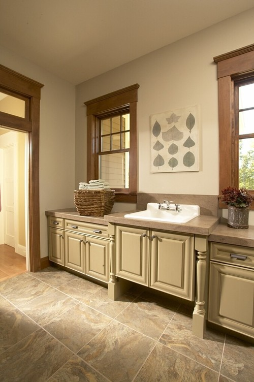 Best Paint Color In A Laundry Room With Cedar Cabinets