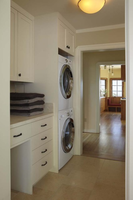 1920's Traditional - Whole House Renovation traditional-laundry-room