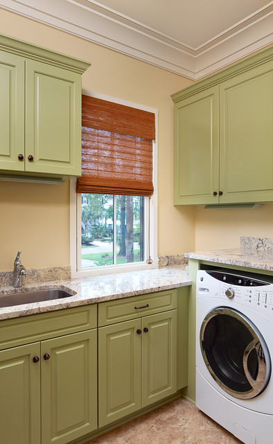 2013 Prism Award Finalist - North Creek Residence traditional-laundry-room