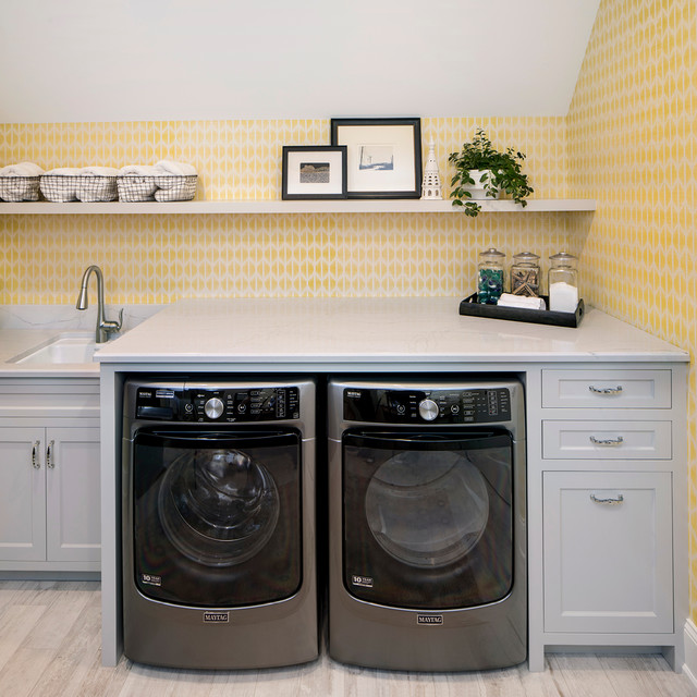 cambria harvest laundry room ideas | 2017 Minnesota ASID Home - Transitional - Laundry Room ...
