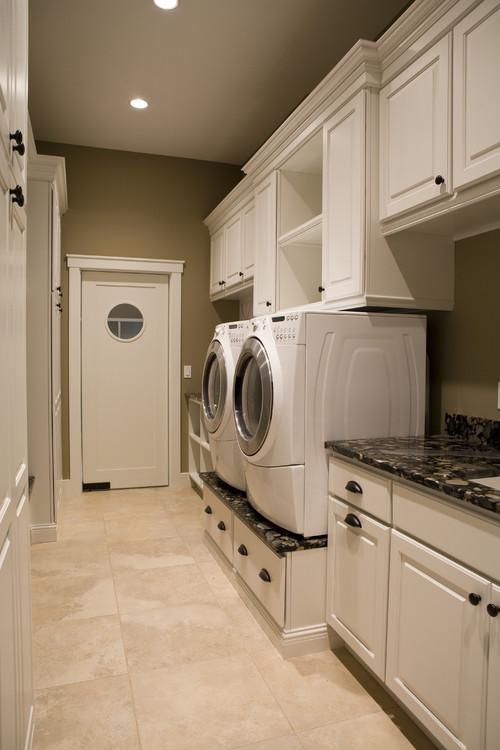 21st Century Bungalow contemporary laundry room