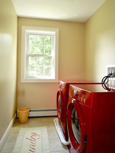 74 fieldstone traditional-laundry-room