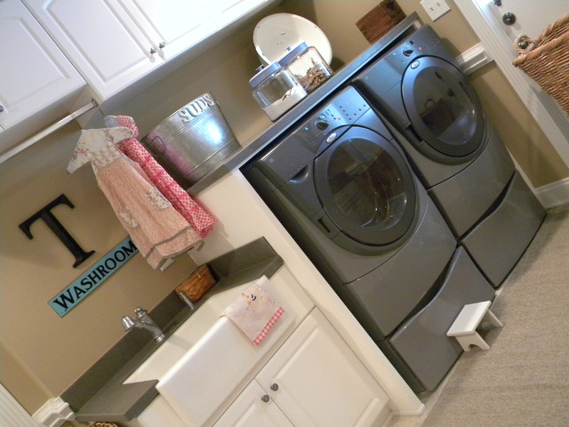 A Laundry Room eclectic-laundry-room