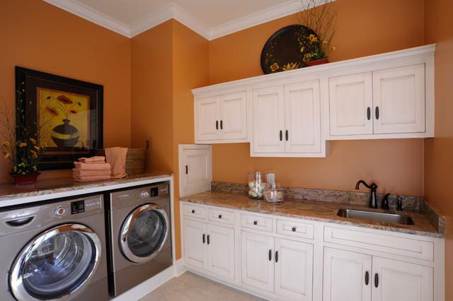 Ackerly Park ~ New Albany, Ohio traditional-laundry-room