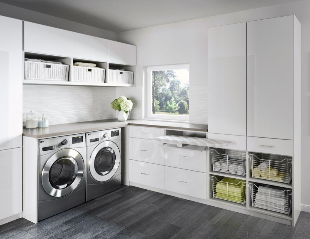 75 Beautiful Vinyl Floor Laundry Room Pictures Ideas February 2021 Houzz