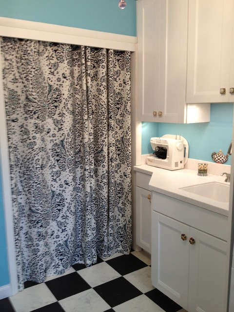 Allentown Laundry Room eclectic-laundry-room