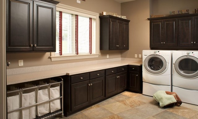 Amish Custom Cabinetry traditional laundry room