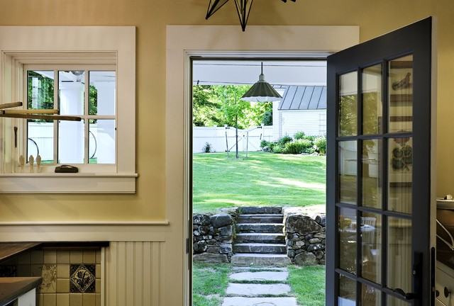 Antique cape norwich vt traditional laundry room for Garden room designs norwich