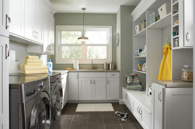 Aristokraft Cabinetry - Traditional - Laundry Room - indianapolis - by Great Kitchens & Baths