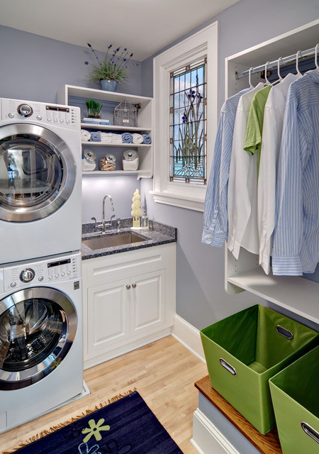 ASID Showcase House Laundry 2012 - contemporary - laundry room ...
