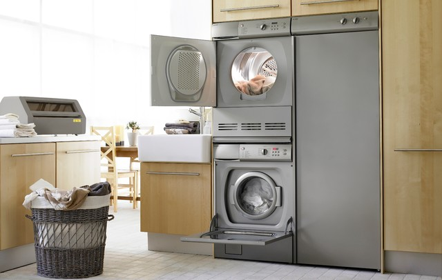 Asko Drying Cabinets Modern Laundry Room Dallas By