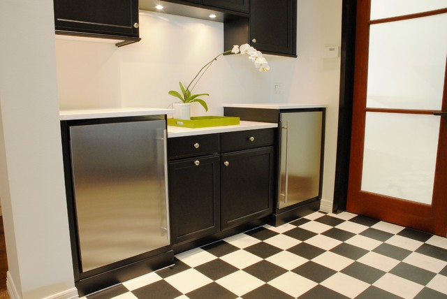 ASKO Panel Ready Laundry Rooms eclectic-laundry-room