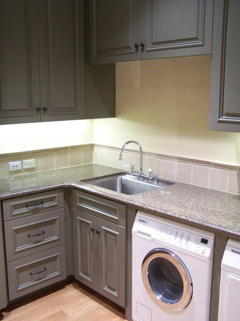 Atherton Estate Residence laundry-room