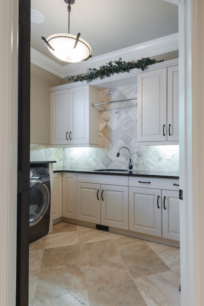 Audie Benson Home Kitchen Bath Laundry Traditional Laundry Room Edmonton By Towne Countree Kitchens Houzz
