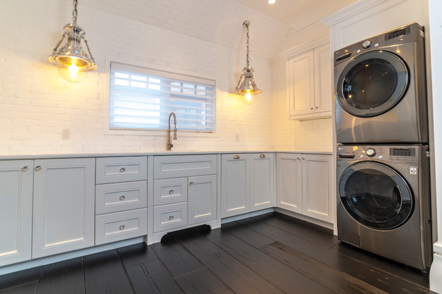 Balmoral Transitional Laundry Room