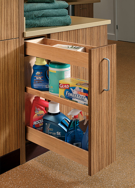 Base Pull-Out Cabinet contemporary-laundry-room