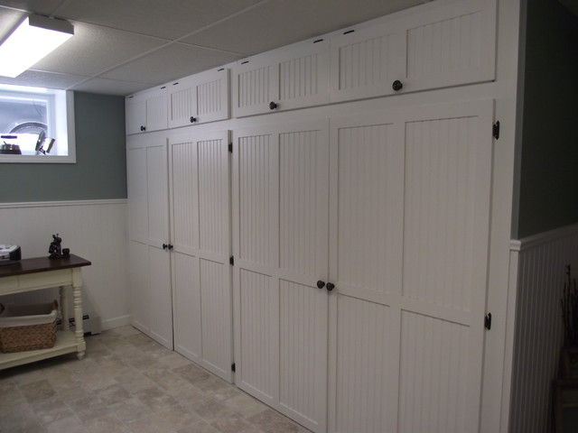Basement Remodel - Laundry Room - Other - by Carrie Greene Interior Design