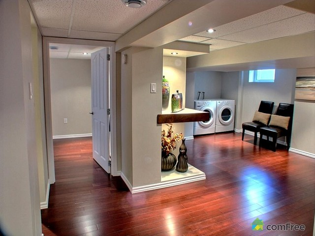 basement modern laundry room other metro by melds