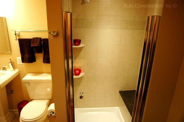 Basement Wash-mahal contemporary-laundry-room