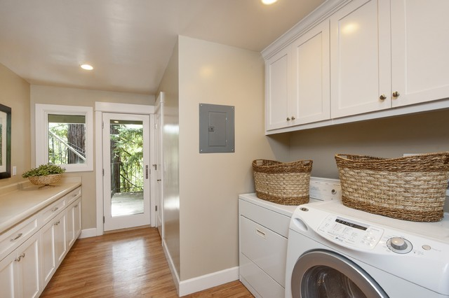 Amazing Bathroom Design Inspiration   Lafayette CA Homes Staged To Sell Traditional  Laundry Room Part 16