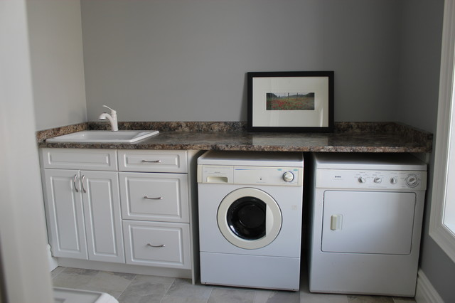 Laundry Bathroom Vanities Traditional Laundry Room Toronto By