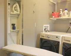 Bathrooms traditional-laundry-room