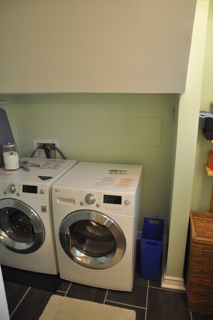 Basement Laundry Room Before And After Before & After Bas...