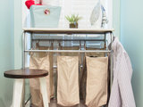 traditional laundry room Clean Up Your Cleanup Zones (8 photos)