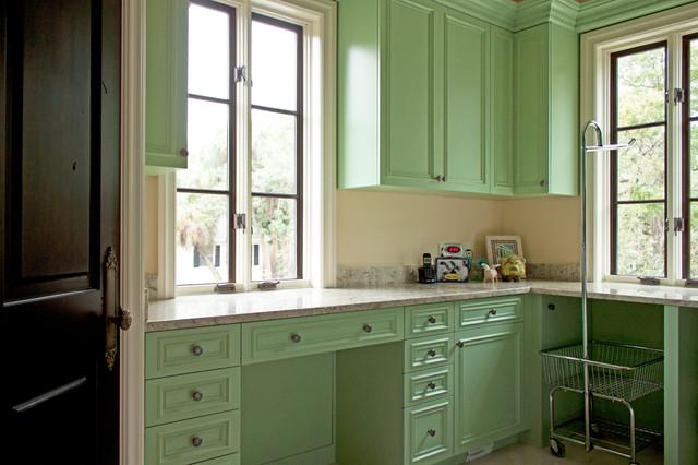 Bespoke Design & Consulting Tampa mediterranean-laundry-room