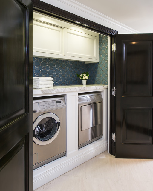 Beverly Hills traditional-laundry-room